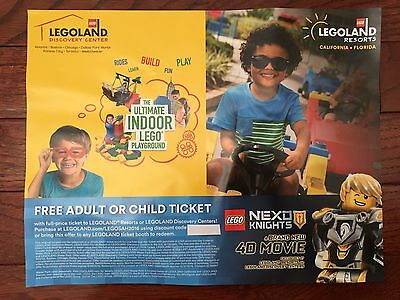 *free Legoland Ticket Voucher With Any Purchase At Resorts Or Discovery Centers*