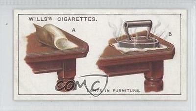 1927 Wills Household Hints Tobacco Dents In Furniture #20 1s8