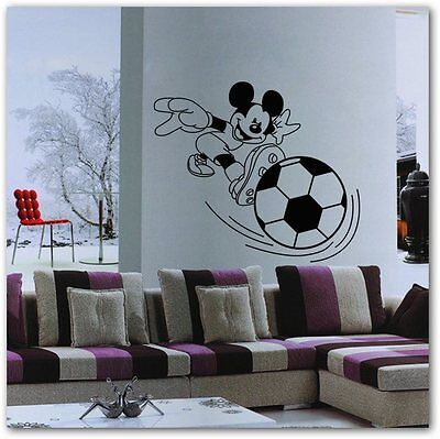 Mickey Pattern Wall Sticker Poster wall decals for kids room 57x50cm
