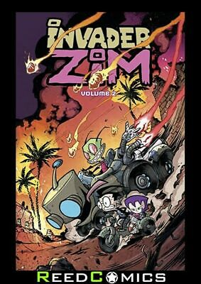 INVADER ZIM VOLUME 2 GRAPHIC NOVEL New Paperback Collects Issues #6-10