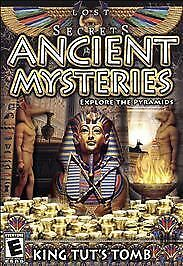BRAND NEW Lost Secrets: Ancient Mysteries -- King Tut's Tomb (Windows/Mac, 2010)