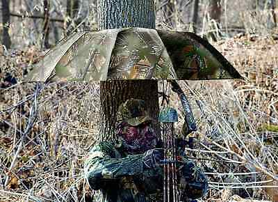 Instant Roof Camo Treestand Umbrella 57 Blind Tree Stand Accessory Sport Supply