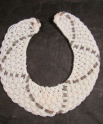 Handmade Vintage Beaded Collar Baar & Beards Top Hit Creation Italy Womens