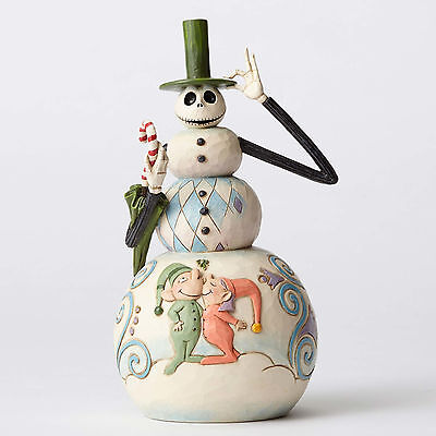 Jim Shore Disney Traditions Jack Snowman Nightmare Before Christmas 4051972 NEW