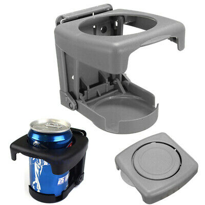 Car Vehicles Truck Folding Beverage Bottle Can Drink Cup Holder Mount Gray New