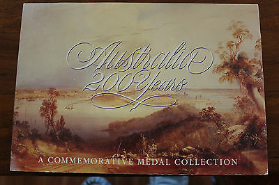 Australia 200 Years A Commemorative 20 medal collection