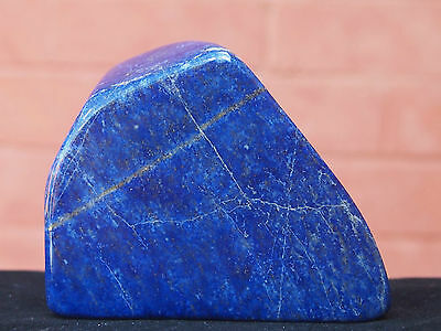 Polished Lapis Lazuli from Afghanistan. 468 grams.