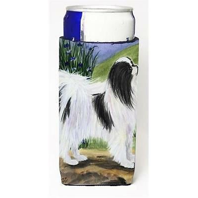 Carolines Treasures Japanese Chin Michelob Ultra s For Slim Cans 12 oz.