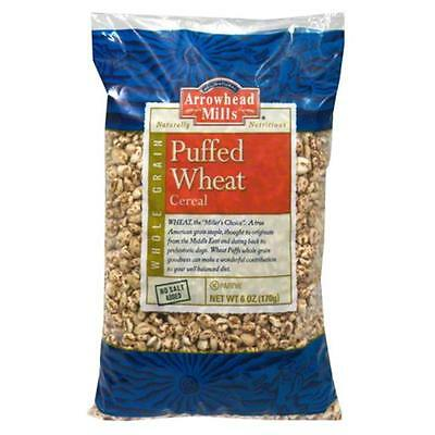 ARROWHEAD MILLS CEREAL PUFF WHEAT NS-6 OZ -Pack of 12
