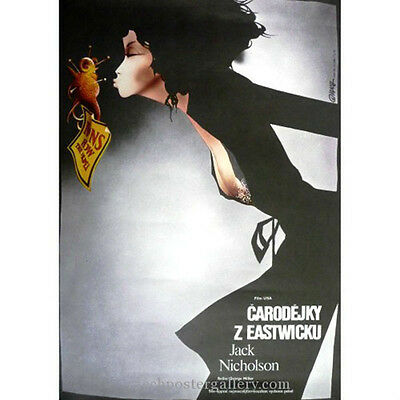 The Witches of Eastwick Original Czech Film Movie Poster