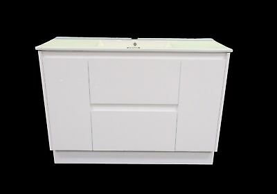 Melbourne 1200Mm White Soft Close Bathroom Vanity Ceramic Top (Bv15)
