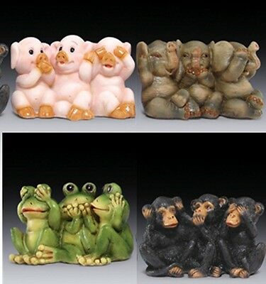 Everspring See Say Hear No Evil Trio Collectible Figurine Statue EIPDR-637