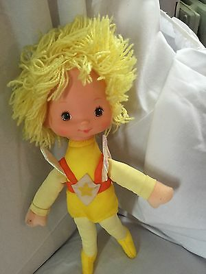 1983 Canary Yellow Rainbow Brite Doll