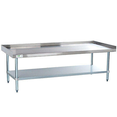 "NEW! Regency 30"" x 60"" 16 Gauge Stainless Steel Equipment Stand Table Counter"