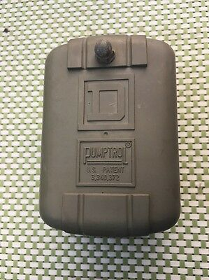 Vintage Water Pump Presure Switch Cover,