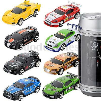 Mini Coke Can RC Racing Car Vehicles Radio Remote Control For Children Toy Gift