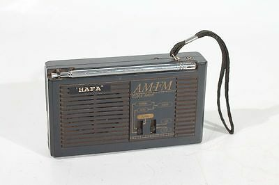 Altes Ukw Clock Radio Uhr Alarm Hafa Am Fm Kult Retro
