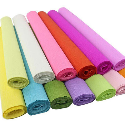 DIY Crepe Paper Streamer Roll Wedding Birthday Party Supplies Handmade Craft