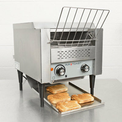 "NEW! Commercial Avantco T140 Electric Conveyor Toaster 3"" Opening Compact 120V"