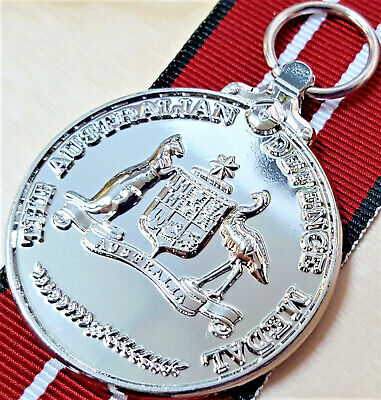 **The Australian Defence Medal Army Navy Air Force Replica 4 Years Service Anzac