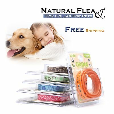 New Essential Natural Oil Pest Control Collar Repel Flea Tick for Dog Cat Puppy