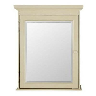 Surface Mount Medicine Cabinet Cottage 23-5/8 in. W x 29 in.Antique White Door