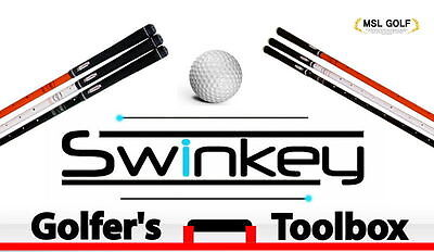 Swinkey Golfer's Toolbox Golf Swing Train Yourself 5 Components Ideal for Gift
