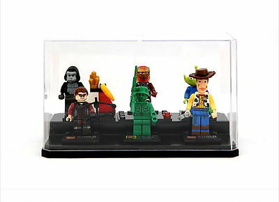 """Collectible Figure Collection Protective Case for Lego Clear Box Japan 6.7"""""""