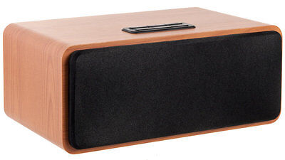 Bluetooth Wooden 12W Speaker with FM Radio for iphone Smart Phone by Sond Audio