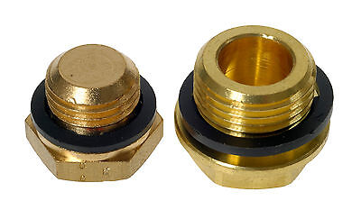 Brass Hex Male BSP Blanking Plug