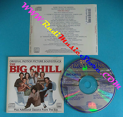 CD The Big Chill MOTD-6062 US 1984 SOUNDTRACK no lp dvd mc(OST2)