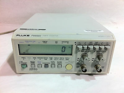 FL10 Timer 120MHz PHILIPS PM6665 Counter Fluke