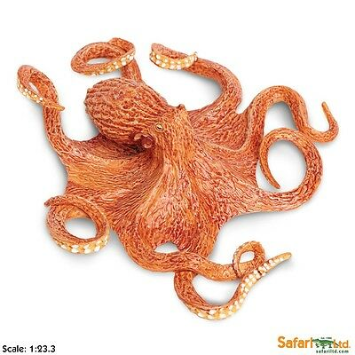 "Giant Pacific Octopus # 267229 ~ 8"" ~ FREE SHIP/USA w/$25+ SAFARI, Ltd. Products"