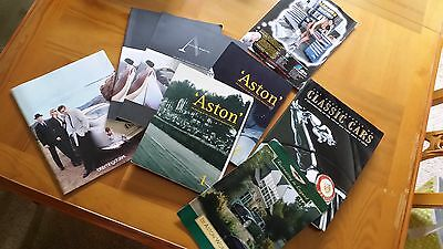 Aston Martin Journal Heritage Trust Issue 1 & 2, Mag Issue 1 - RARE, COLLECTABLE