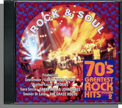 70's Greatest Rock Hits, Vol. 2 - Rock &  Soul - New Various Artists, Hits CD!