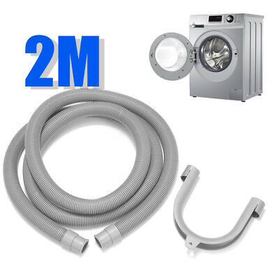 "78.7"" Length Flexible Elbow Drain Hose With Bracket For Washer Washing Machine"