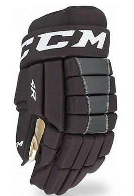 CCM 4R III Hockey Gloves / Hockeyhandschuhe 10'' to 15'' Black