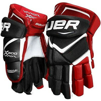 Bauer Vapor X800 Hockey Gloves / Hockeyhandschuhe 13'' - 15''Sizes