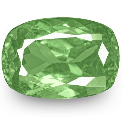 1.61-Carat VS-Clarity Intense Green Cushion-Cut Russian Alexandrite