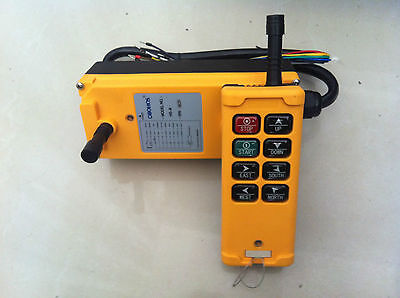 12-415V  1 Tansmitter 8 Channels Industrial Wireless Crane Hoist Remote Control