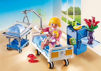 Playmobil #6660 Maternity Room - New Factory Sealed