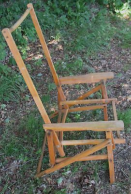 Large Lot Vintage Folding Deck Lounge Chairs
