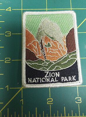 New Traveler Series Patch - Zion National Park - Utah - Embroidered Patch