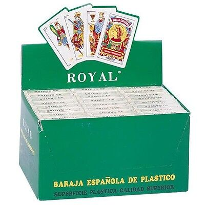 24 Decks of Spanish Style Plastic Playing Cards
