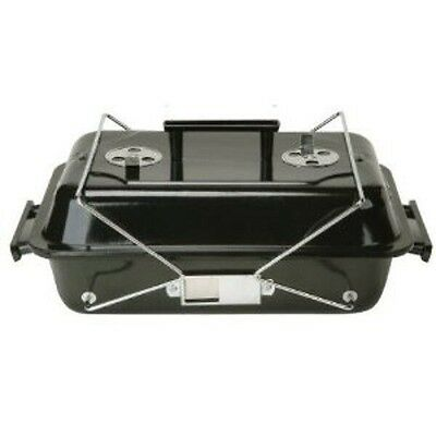 "Portable Charcoal Grill 19"" x 11.25"""