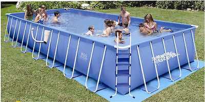 Summer Escapes Rectangular Frame Pool 12' x 30' x 48""