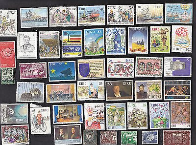 150 All Different IRELAND Pictorials & Commemorative Stamps *