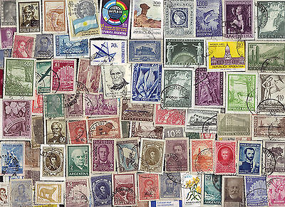 500 All Different ARGENTINA Stamps