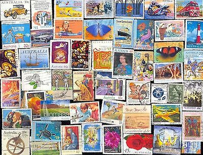 500 All Different AUSTRALIA Stamps