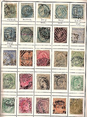 1100 All Different INDIA  Stamps, Book Mounted